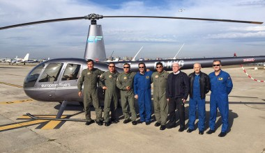 European Flyers forma a mecánicos y pilotos en coordinación con el Instituto Elmer Faucett